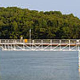 Blue Ridge Dam - Panoramic by Michael Waters