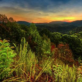 Debra and Dave Vanderlaan - Blue Ridge Mountainside Overlook