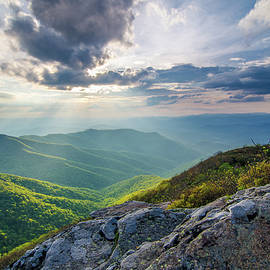 Robert Stephens - Blue Ridge Parkway NC Light And Warmth
