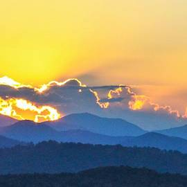 Blue Ridge Sunset by Mary Ann Artz