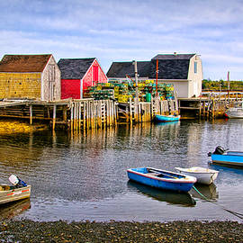 Carolyn Derstine - Blue Rocks Harbour
