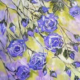 Cathy MONNIER - Blue Roses