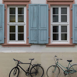Teresa Mucha - Blue Shutters and Bicycles