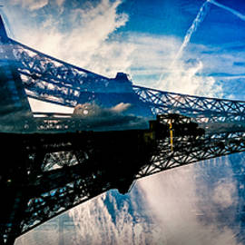 Blue sky In Paris  by Cyril Jayant