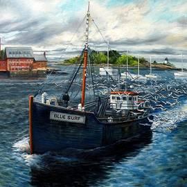 Eileen Patten Oliver - Blue Surf