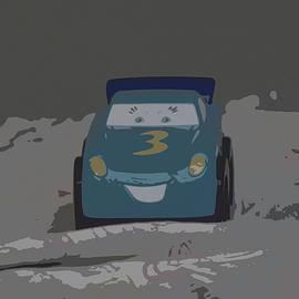 Blue Toy Car by Pamela Walton