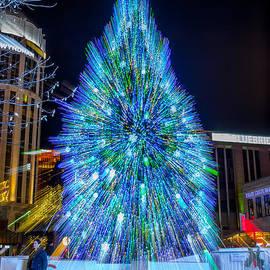 Barbara Molocznik - Blue Unity Christmas Tree