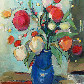 Becky Kim - Blue Vase