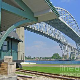 Ann Horn - Blue Water Bridge and Edison Depot