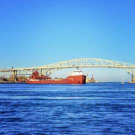 LeeAnn McLaneGoetz McLaneGoetzStudioLLCcom - Blue Water Bridge Michigan