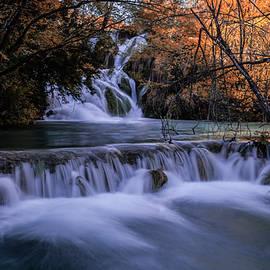 Jaroslaw Blaminsky - Blue waterfalls