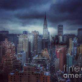 Miriam Danar - Blue Winds of Winter - Skyline of New York