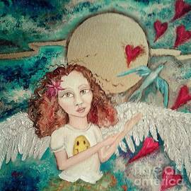 Bluebird of Happiness by Wendy Wunstell