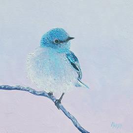 Jan Matson - Bluebird painting