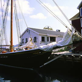 Bluenose II at Historic Properties Halifax Nova Scotia