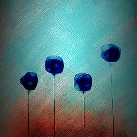 Blushing Flowers by Aurora Art
