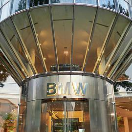 BMW door. Berlin by Jouko Lehto