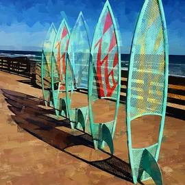 Boards In A Row by Alice Gipson