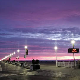 Boards Under Colorful Skies by Robert Banach