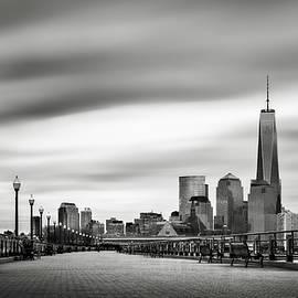 Boardwalk into the city by Eduard Moldoveanu