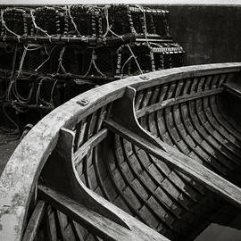Boat and Creel Nets by Dave Bowman