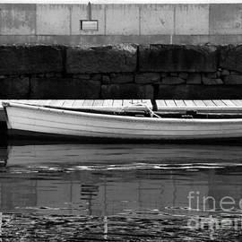 Boat At The Dock by Lita Kelley