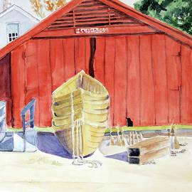 Boat Barn by Carole DiTerlizzi