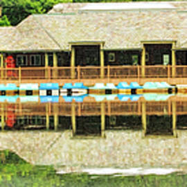 Geraldine Scull - Boat house at Verona Park