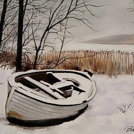 Bill Dunkley - Boat in Snow