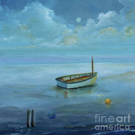 Boat on the Peaceful Day by Alicia Maury