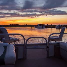 Amy Jackson - Boat Side Sunset