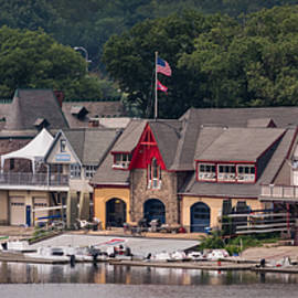 Boathouse Row Philadelphia Pa  by Terry DeLuco