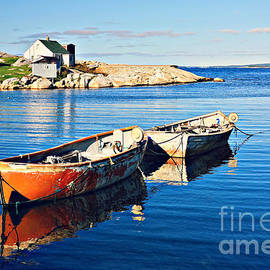 Boats and water by Tatiana Travelways