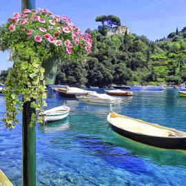 Boats at Portofino by Dominic Piperata