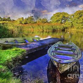 Ian Mitchell - Boats At The Lake