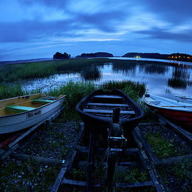 Boats by Night by Jouko Lehto