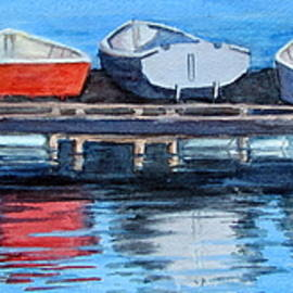 Linda Spencer - Boats in a Row