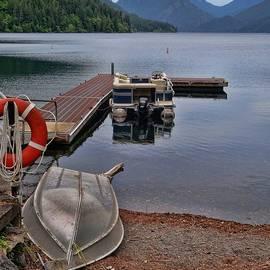 Dan Sproul - Boats On Lake Crescent Washington