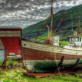 Mike Deutsch - Boat,Seydisfjordur East Iceland
