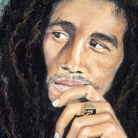 Bob Marley by Ashley Kujan