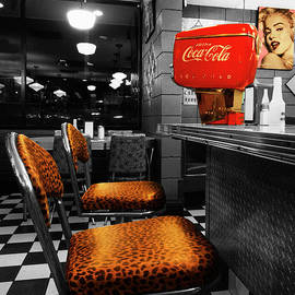 Bobby Sox 50's Diner 2 by Bob Christopher