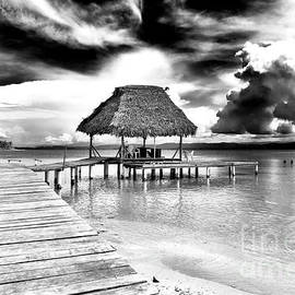 Bocas del Drago Clouds in Panama by John Rizzuto
