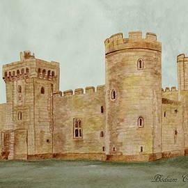 Bodiam Castle by Angeles M Pomata