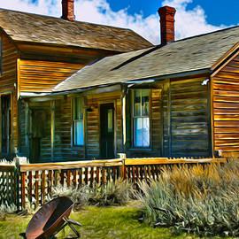 Bodie House Stylized by Kim Hawkins Eastern Sierra Gallery