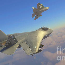 Boeing F-32 Joint Strike Fighter Production Model #3 - Hangar B Productions
