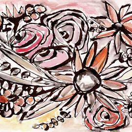 Linda Woods - Bohemian Garden 1- Art by Linda Woods