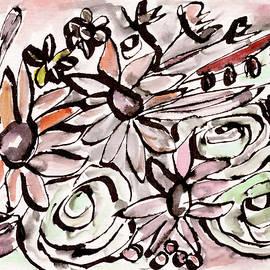 Linda Woods - Bohemian Garden 2- Art by Linda Woods