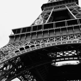 Carol Groenen - Bold Eiffel Tower Black and White