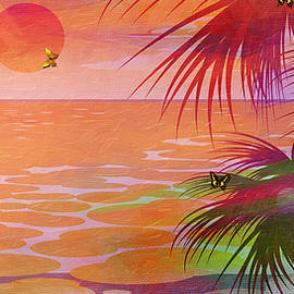 L Wright - Bold Tropical Palms