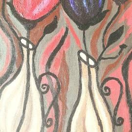 Bold Tulips by Danusha Grigar